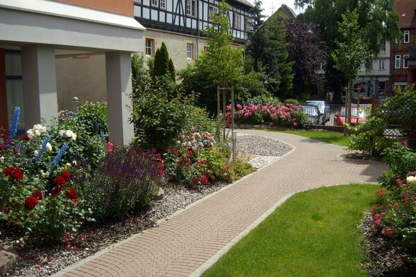Gartenanlage des Kreisaltenzentrums